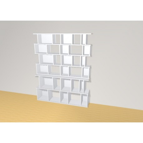 Bookshelf (H176cm - W140 cm)