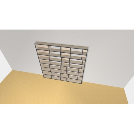 Bookshelf (H198cm - W200 cm)