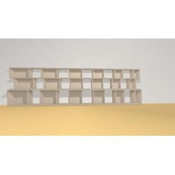 Bookshelf (H90cm - W320 cm)