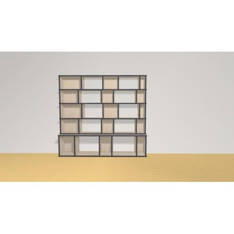 Bookshelf (H141cm - W153 cm)