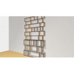 Bibliothèque (H263cm - L151 cm)