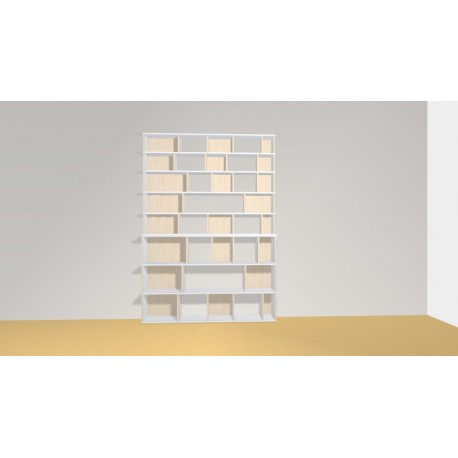 Bookshelf (H239cm - W170 cm)