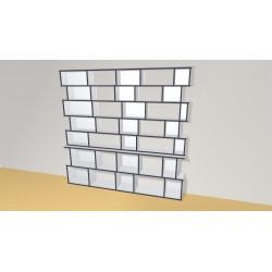 Bookshelf (H203cm - W210 cm)