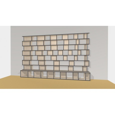Bookshelf (H227cm - W400 cm)