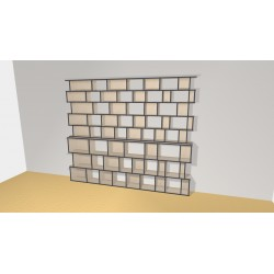 Bookshelf (H239cm - W282 cm)