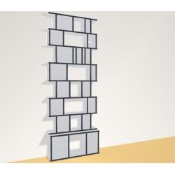 Bookshelf (H221cm - W81 cm)