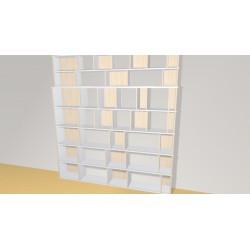 Bookshelf (H236cm - W220 cm)