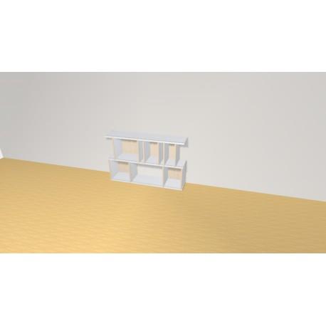 Bookshelf (H73cm - W115 cm)