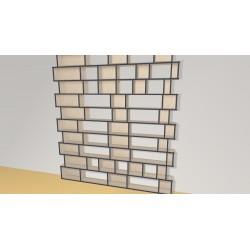 Bookshelf (H246cm - W222 cm)