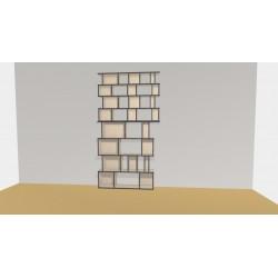 Bibliothèque (H248cm - L148 cm)