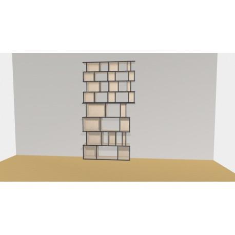 Bookshelf (H248cm - W148 cm)