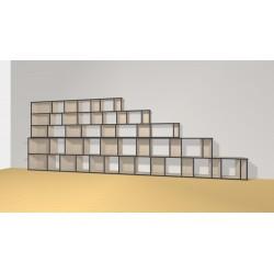Bibliothèque (H156cm - L450 cm)