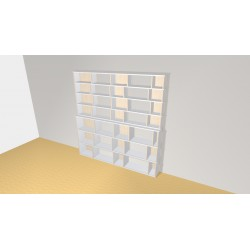 Bookshelf (H212cm - W212 cm)