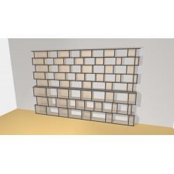 Bibliothèque (H239cm - L366 cm)