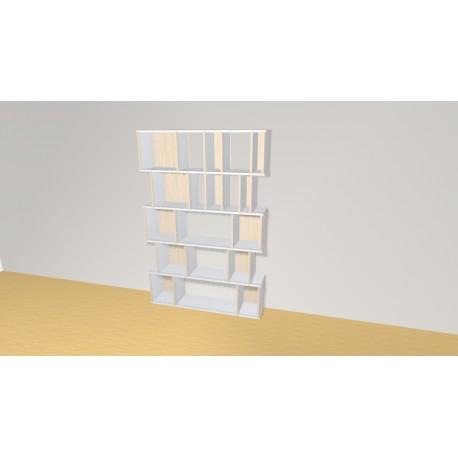 Bibliothèque (H181cm - L121 cm)