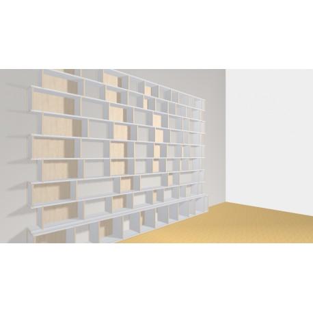 Bibliothèque (H248cm - L344 cm)