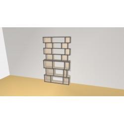 Bibliothèque (H212cm - L124 cm)