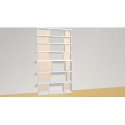 Bookshelf (H209cm - W114 cm)