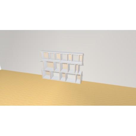 Bibliothèque (H102cm - L146 cm)