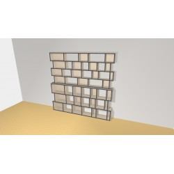 Bookshelf (H218cm - W225 cm)