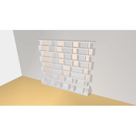 Bookshelf (H221cm - W249 cm)