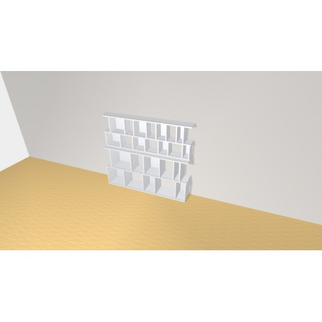 Bookshelf (H126cm - W145 cm)