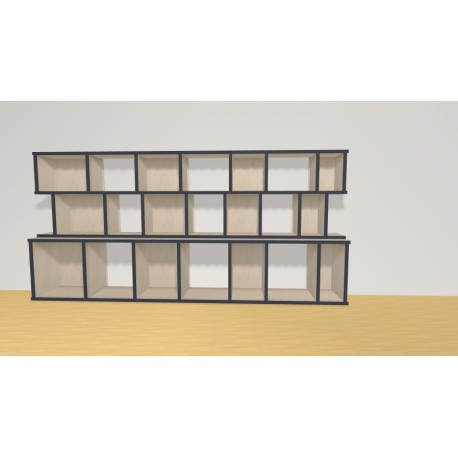Bookshelf (H90cm - W190 cm)