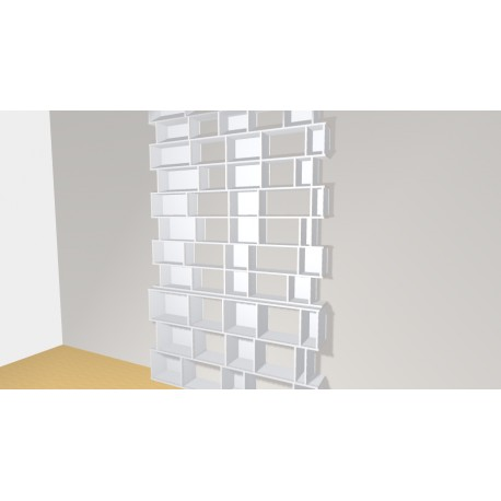 Bookshelf (H319cm - W200 cm)