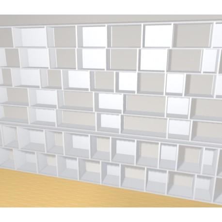 Bookshelf (H209cm - W415 cm)