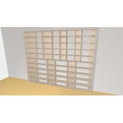 Bibliothèque (H240cm - L300 cm)