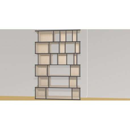 Bookshelf (H217cm - W160 cm)