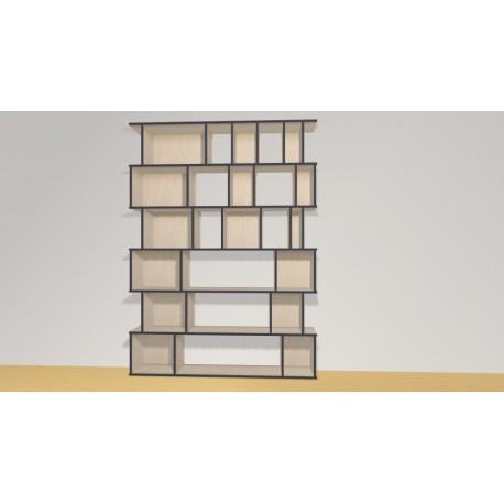 Bibliothèque (H217cm - L160 cm)