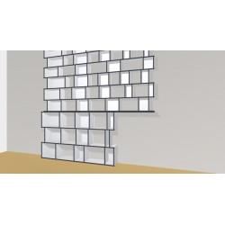 Bookshelf (H263cm - W285 cm)