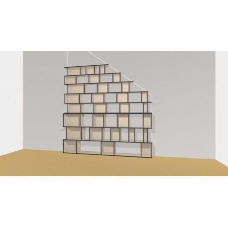 Bookshelf (H239cm - W265 cm)