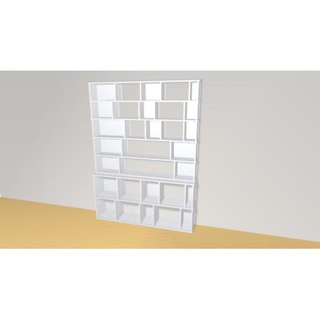 Bibliothèque (H203cm - L151 cm)