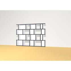 Bookshelf (H103cm - W140 cm)