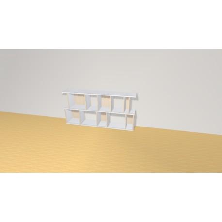 Bookshelf (H73cm - W150 cm)
