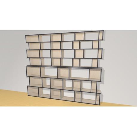 Bookshelf (H212cm - W249 cm)
