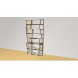 Bibliothèque (H203cm - L100 cm)