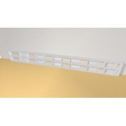 Bookshelf (H49cm - W450 cm)