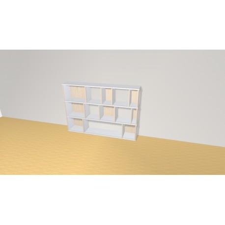 Bibliothèque (H109cm - L156 cm)