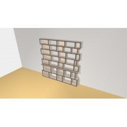 Bibliothèque (H203cm - L202 cm)