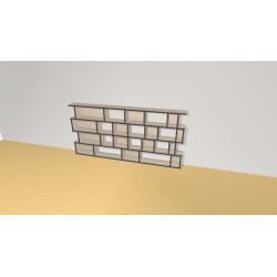 Bookshelf (H97cm - W200 cm)