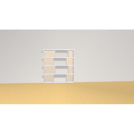 Bibliothèque (H103cm - L95 cm)