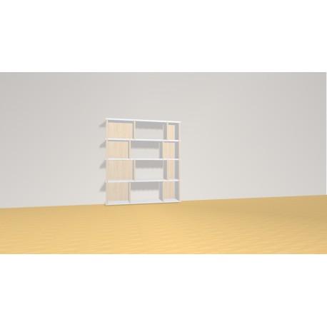 Bibliothèque (H103cm - L93 cm)