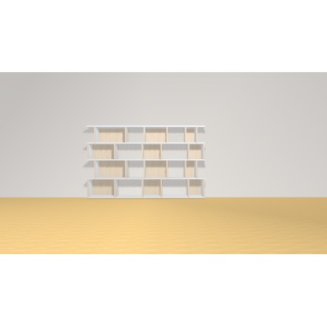 Bookshelf (H103cm - W168 cm)