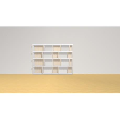 Bibliothèque (H103cm - L140 cm)