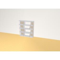 Bookshelf (H103cm - W92 cm)