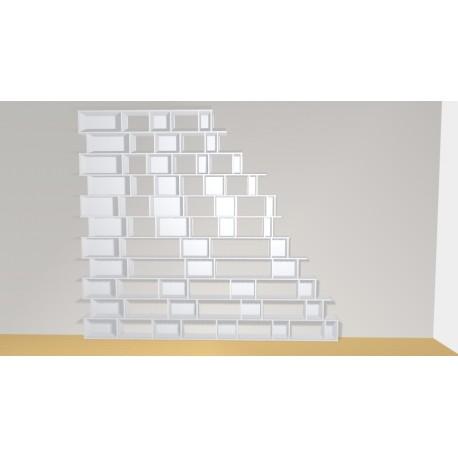 Bibliothèque (H297cm - L335 cm)
