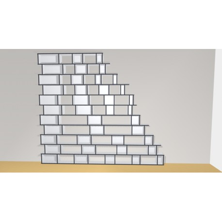 Bookshelf (H297cm - W335 cm)